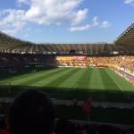 ユアスタはいいスタジアムだ。